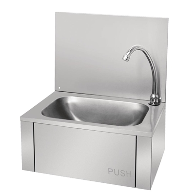 Vogue Stainless Steel Knee Operated Sink Gl280 Buy