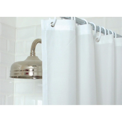 Essentials Plain Shower Curtain White - GT798 - Buy Online at Mitre ...