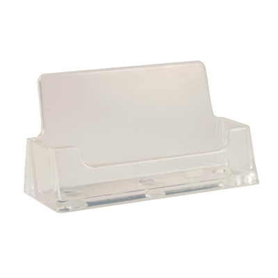 Business card holder cd165 buy online at nisbets one pocket perspex business card holder capacity 30 reheart Image collections