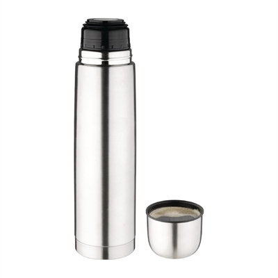bouteille thermos inox olympia 1l cn696 nisbets. Black Bedroom Furniture Sets. Home Design Ideas