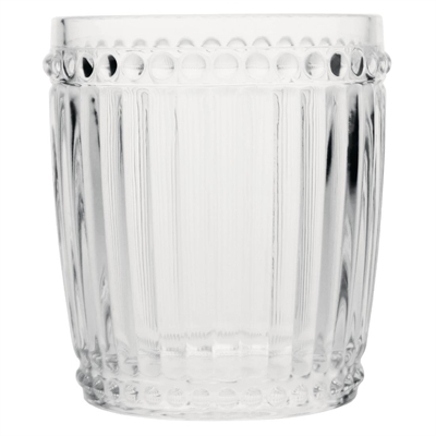 Olympia baroque whiskey glass clear 325ml cw397 buy for Clear baroque glass