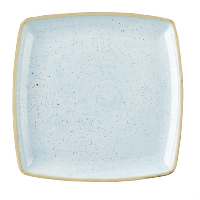 Churchill Stonecast Duck Egg Blue Deep Square Plate 268x268mm (Box 6) (B2B) ...  sc 1 st  Nisbets & Churchill Stonecast Deep Square Plate Duck Egg Blue 260mm - DK511 ...