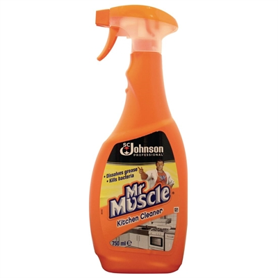 Mr Muscle Kitchen Cleaner Lemon Fresh 750ml ...
