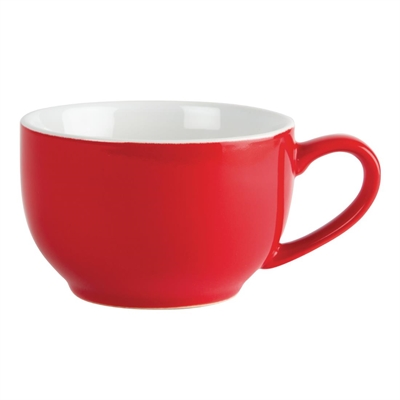 olympia cafe coffee cups red 228ml gk073 buy online at nisbets