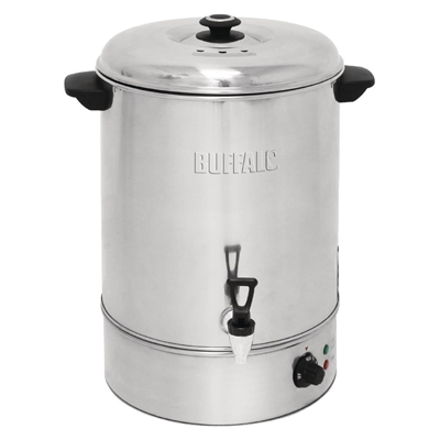 Buffalo Manual Fill Water Boiler 40Ltr - GL349 - Buy Online at Nisbets