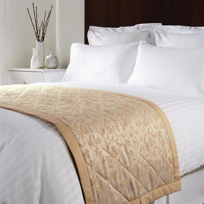 Essentials Sovereign Bed Runners Gold P Gw257 Buy