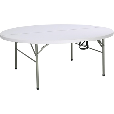 6ft Round Table 6ft Round Centre Folding Table Bolero Nisbets