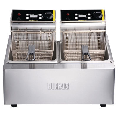recipes vernon dual electric details com kirchen manor restaurant deep commercial countertop fryer used steel tank about