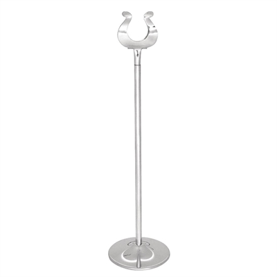 Stainless Steel Table Number Stand Mm P Buy Online At Nisbets - Stainless steel table numbers