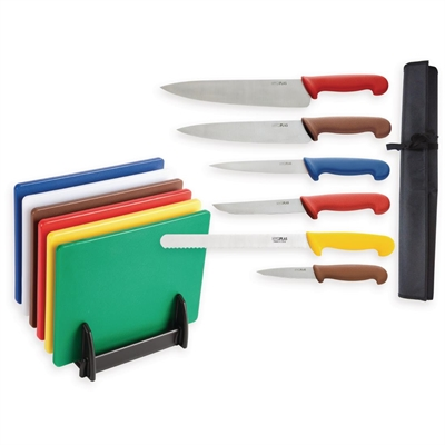 Image result for Hygiplas Chopping Boards and Knife Set