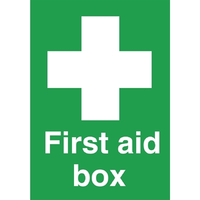 First Aid Box Symbol Sign W315 Buy Online At Nisbets