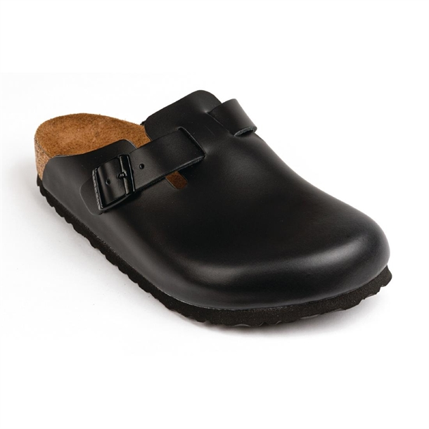 0c8c439c53 Birkenstock Boston Clog Black - P A482 - Buy Online at Nisbets