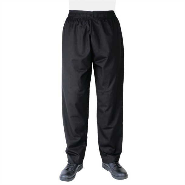 f09f12c609795e Whites Unisex Vegas Chefs Trousers Black - P_A582 - Buy Online at ...