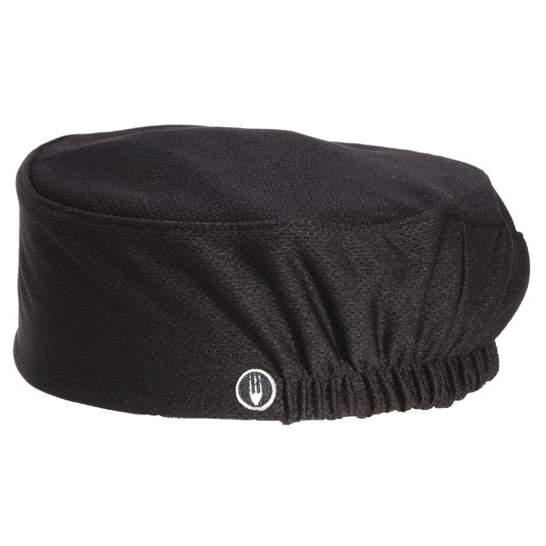 Gorro cocina Beanie Chef Works Total Vent negro - A978 - Nisbets f2029be8779
