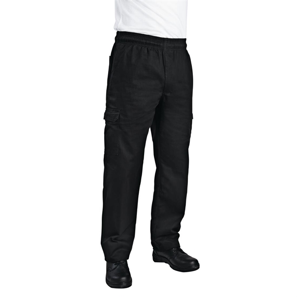 7c60b0f5e04 ... Chefs Trousers Black. ×. Chef Works Slim Fit Cargo Pant Black - Size  XXL ...