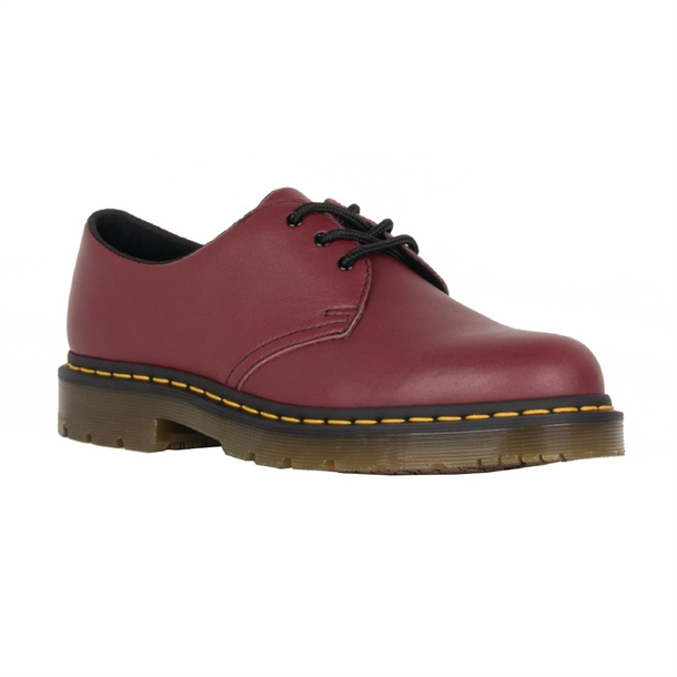 fc9a06714c0e Dr Martens 1461SR 3 Eye Shoe Red - P BB391 - Buy Online at Nisbets