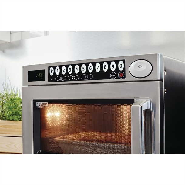 Samsung Heavy Duty Programmable Commercial Microwave 1850w