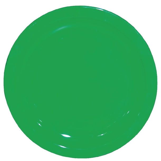 Kristallon Polycarbonate Plates Green 230mm Cb768 Buy