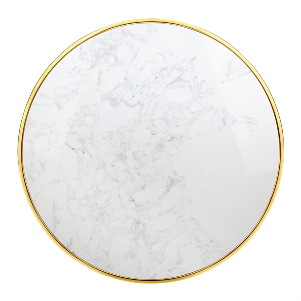 Bolero Round Marble Table Top With, Marble Round Table Top