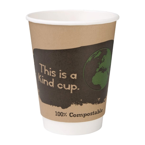 12oz Compostable Coffee Cups