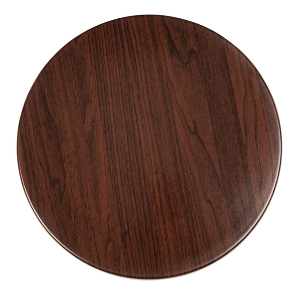 Bolero Pre Drilled Round Table Tops, Round Wood Table Tops