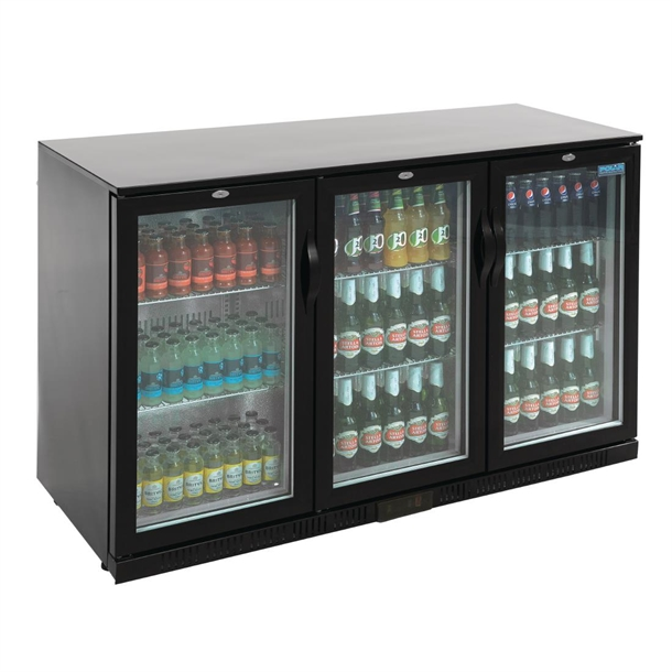 Polar Back Bar Cooler With Hinged Doors In