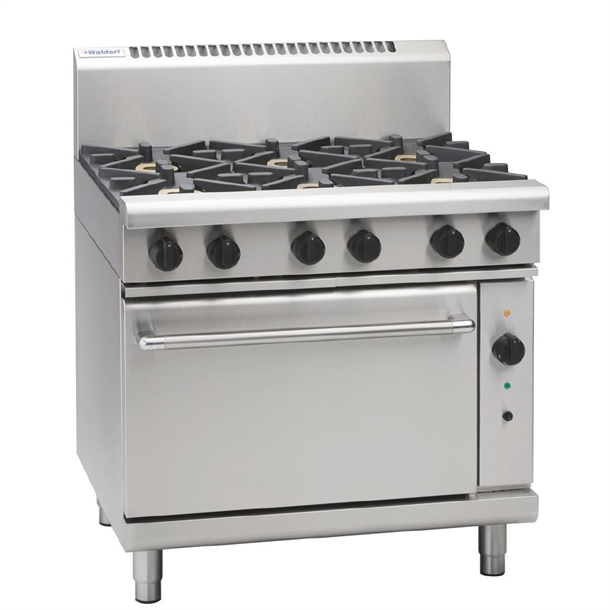 Waldorf By Moffat 900mm Gas Convection Oven Range W Griddle Lpg