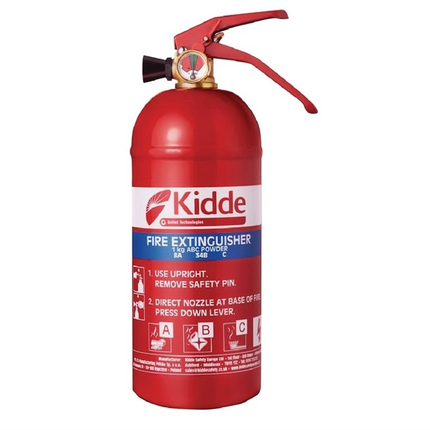 Kidde Fire Extinguisher Multi Purpose A B C And Electrical Fires