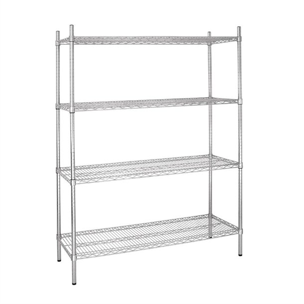 Vogue 4 Tier Wire Shelving Kit 1525x460mm L929 Buy