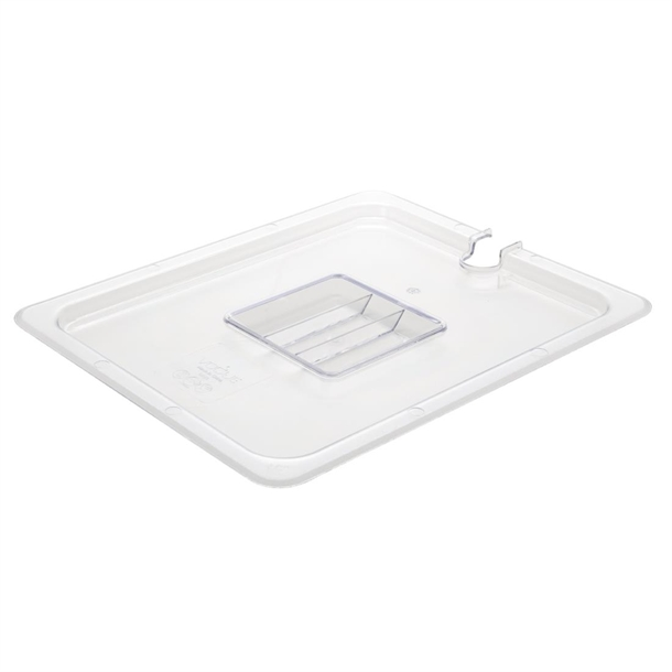 Cambro 150mm Deep 1/2 Clear Polycarbonate GN Pan - 26CW135