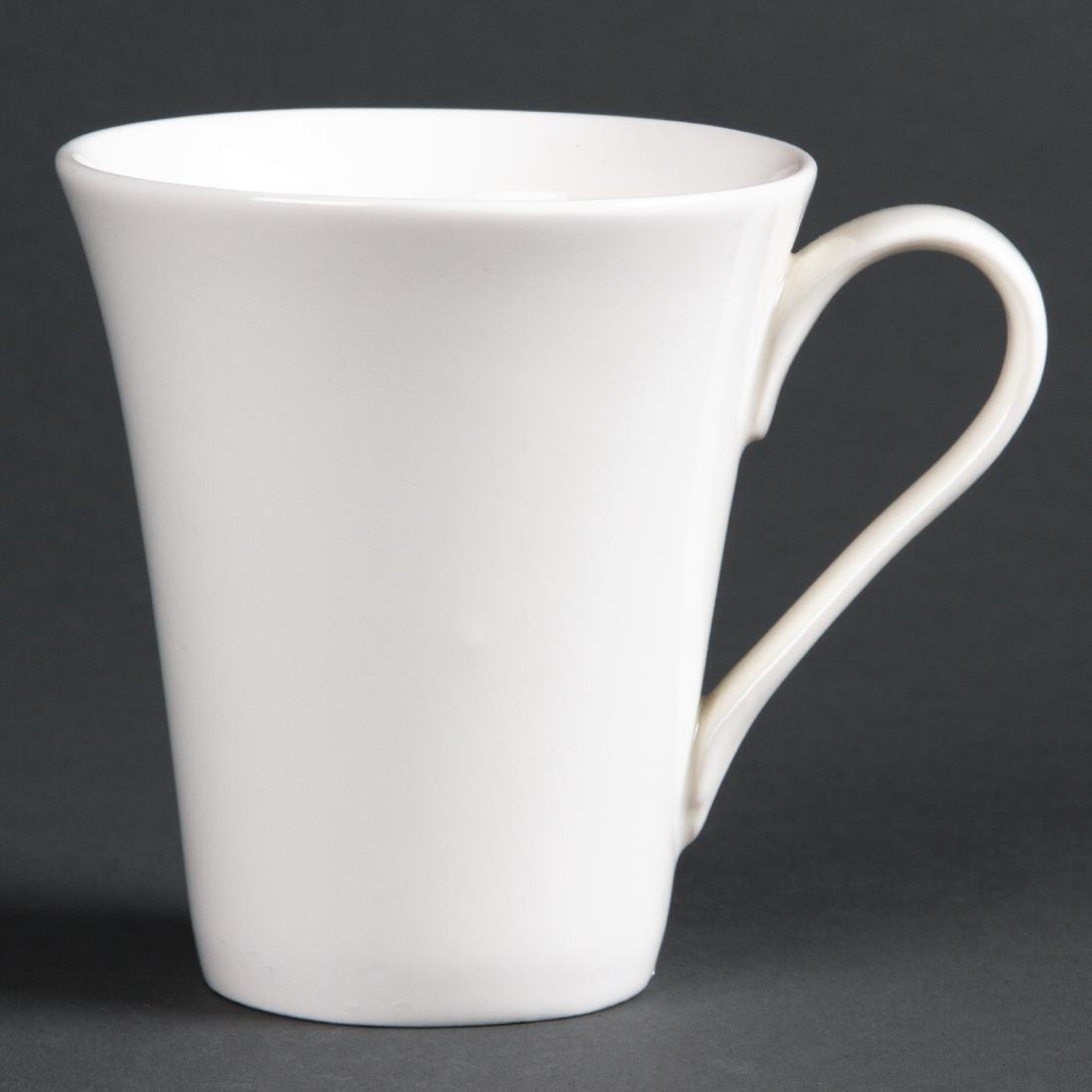 Image of Lumina Fine China Flare Cups 185ml 6oz (Pack of 12) Pack of 12