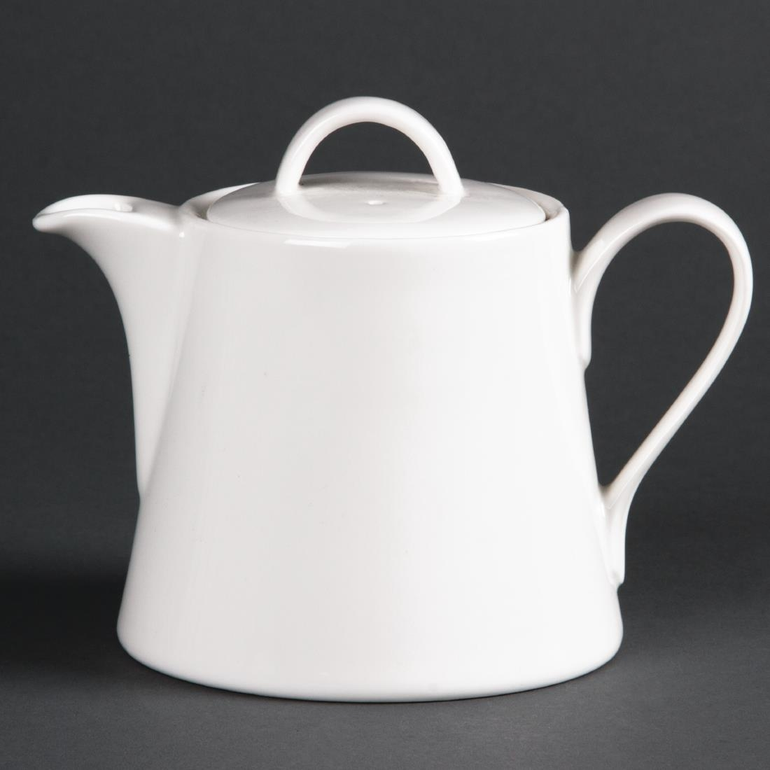Image of Lumina Fine China Beverage Pots 425ml (Pack of 4) Pack of 4