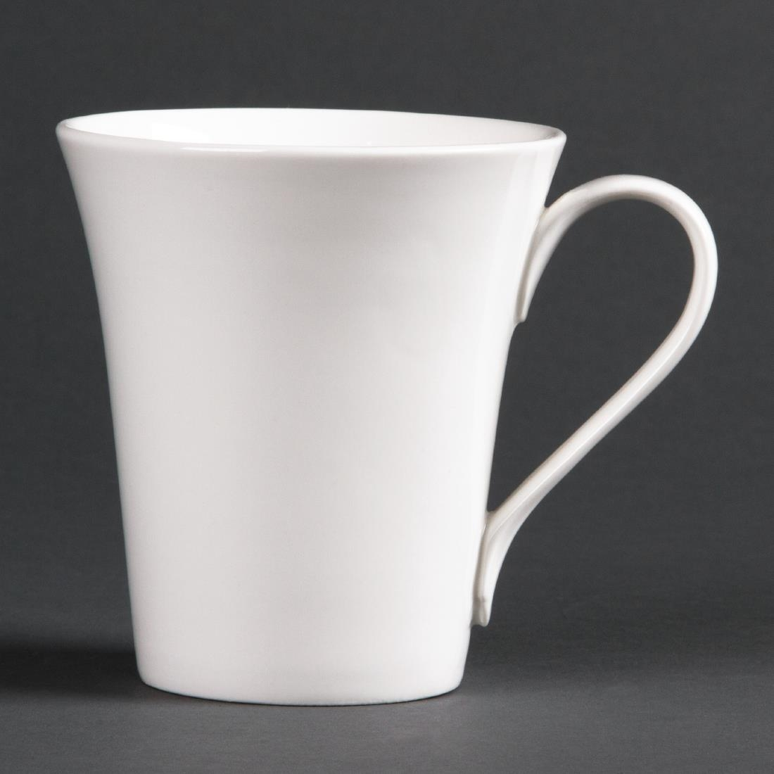 Image of Lumina Fine China Flare Cups 285ml 10oz (Pack of 12) Pack of 12