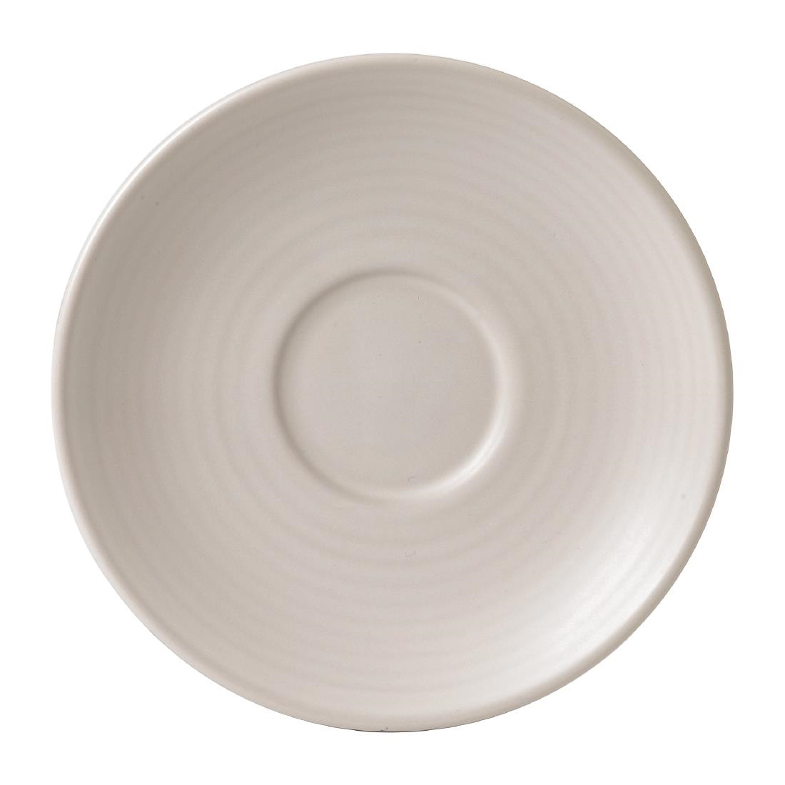 Image of Dudson Evo Pearl Saucer 162mm (Pack of 6) Pack of 6