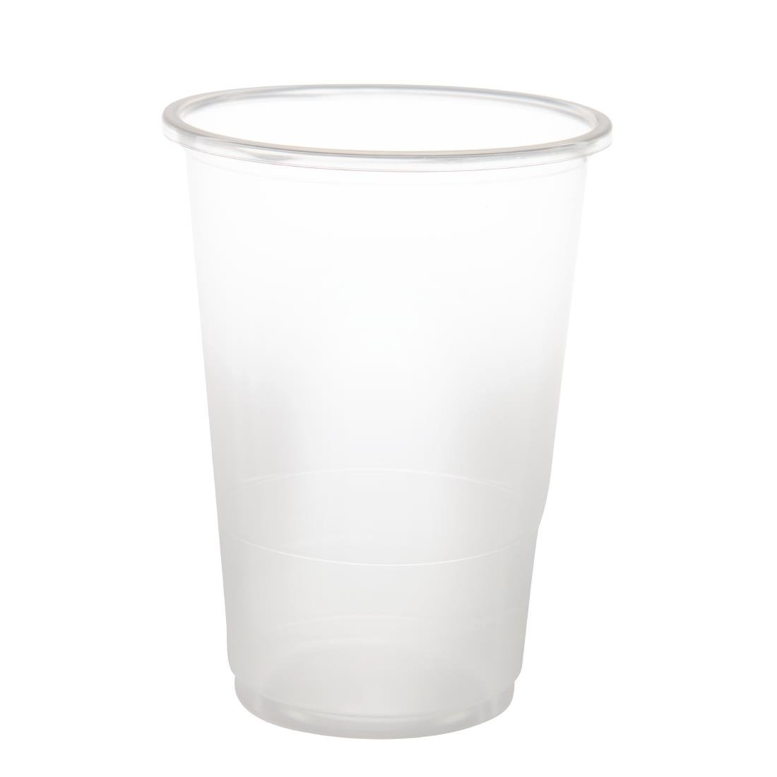 Image of eGreen Disposable Half Pint Glass 10oz To Brim (Pack of 1000) Pack of 1000