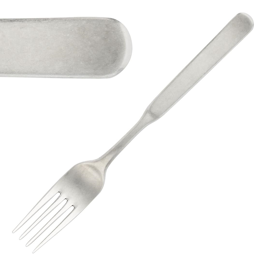 Image of Pintinox Casali Stonewashed Table Fork (Pack of 12) Pack of 12