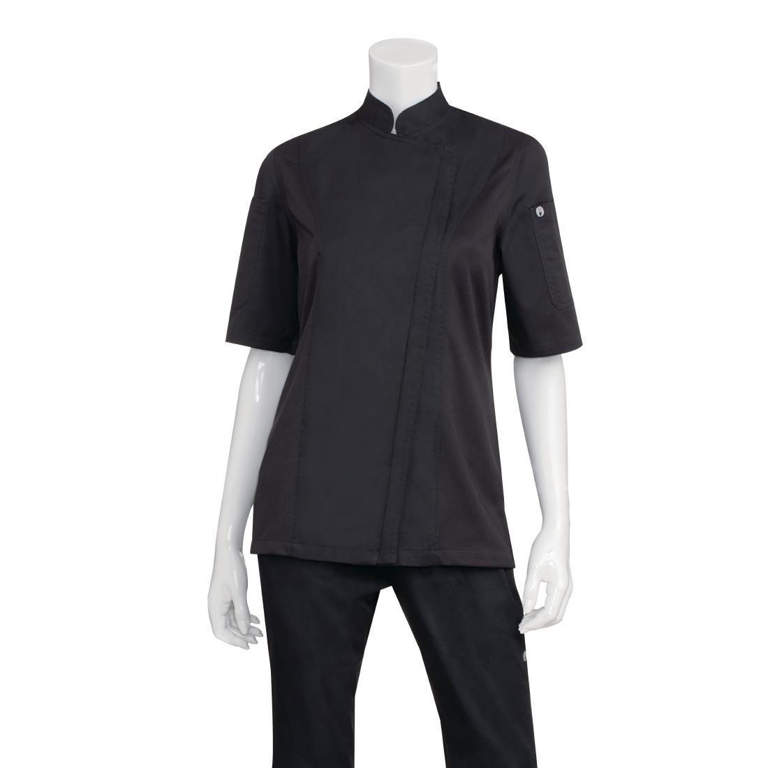 Click to view product details and reviews for Chef Works Womens Springfield Zip Chefs Jacket Black Xs.