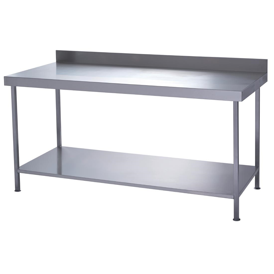 Parry Fully Welded Stainless Steel Wall Table With
