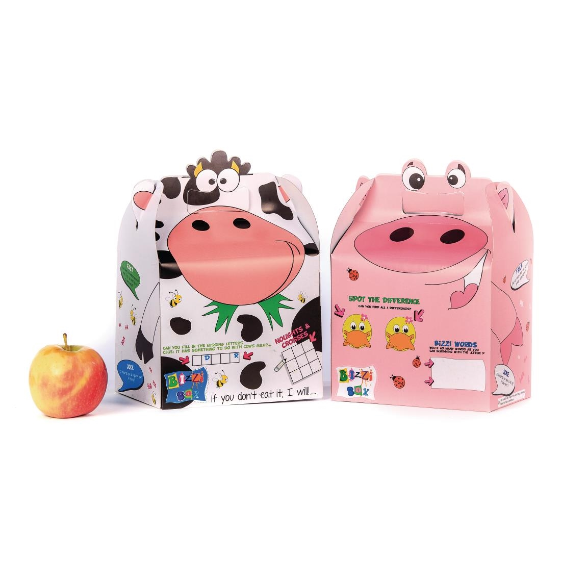 Image of Craftis Kids Bizzi Boxes Assorted Farm Animals (Pack of 200) Pack of 200