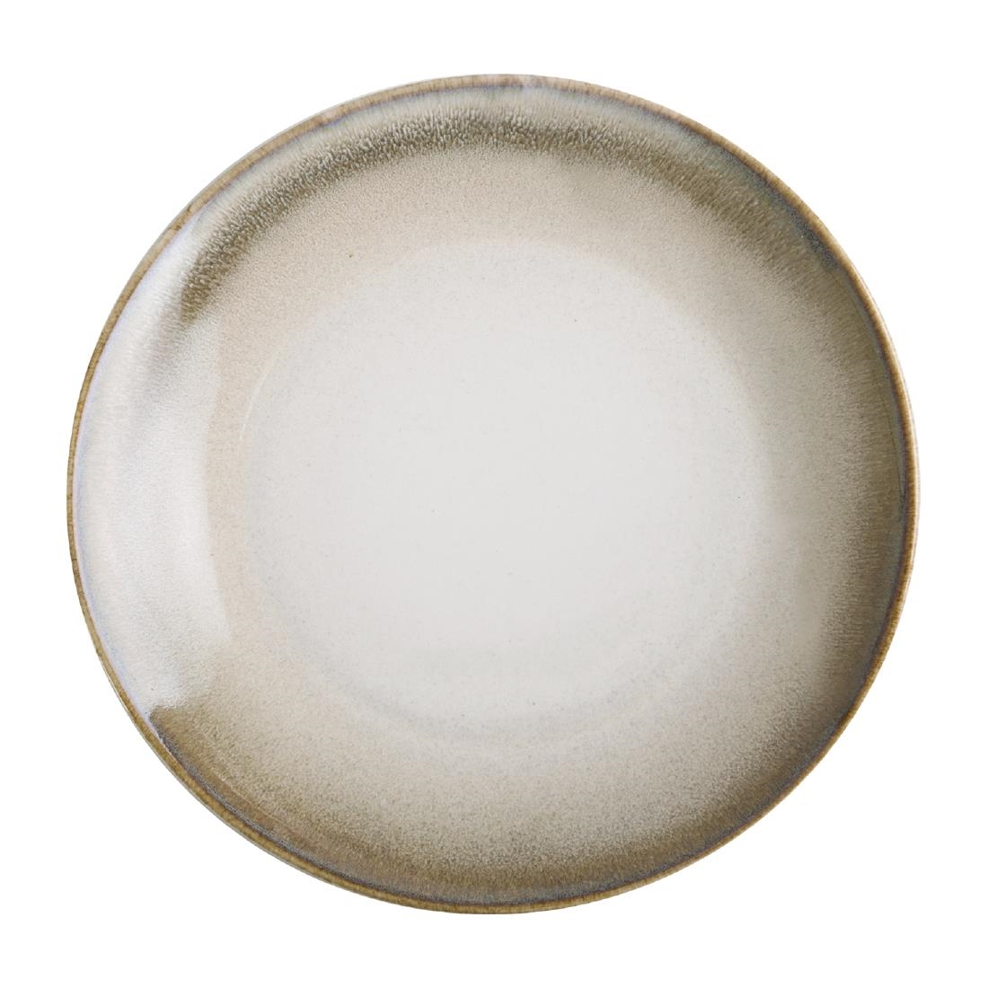 Olympia Birch Taupe Coupe Plates 205mm Pack of 6