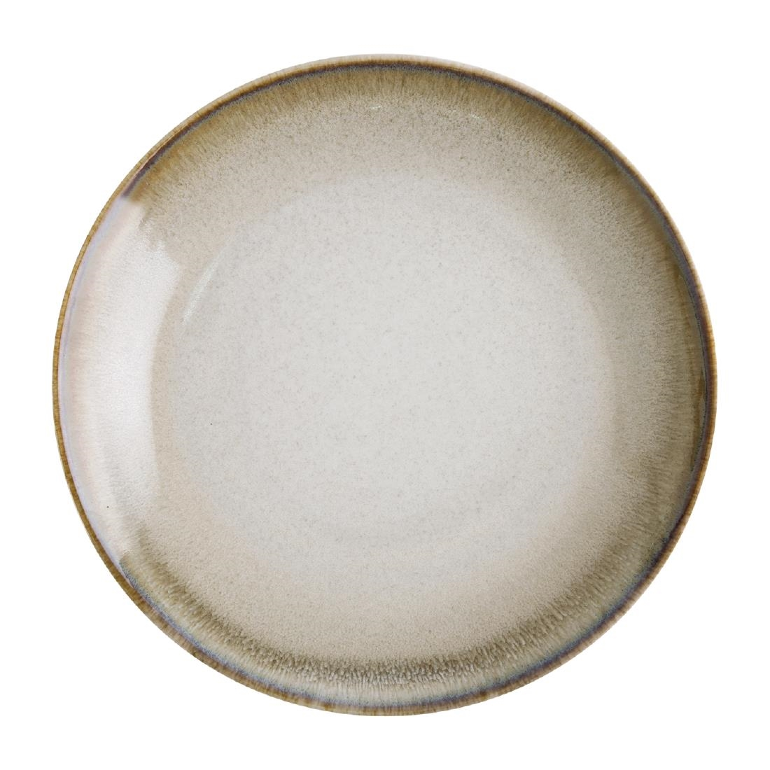 Olympia Birch Taupe Coupe Plates 270mm Pack of 6