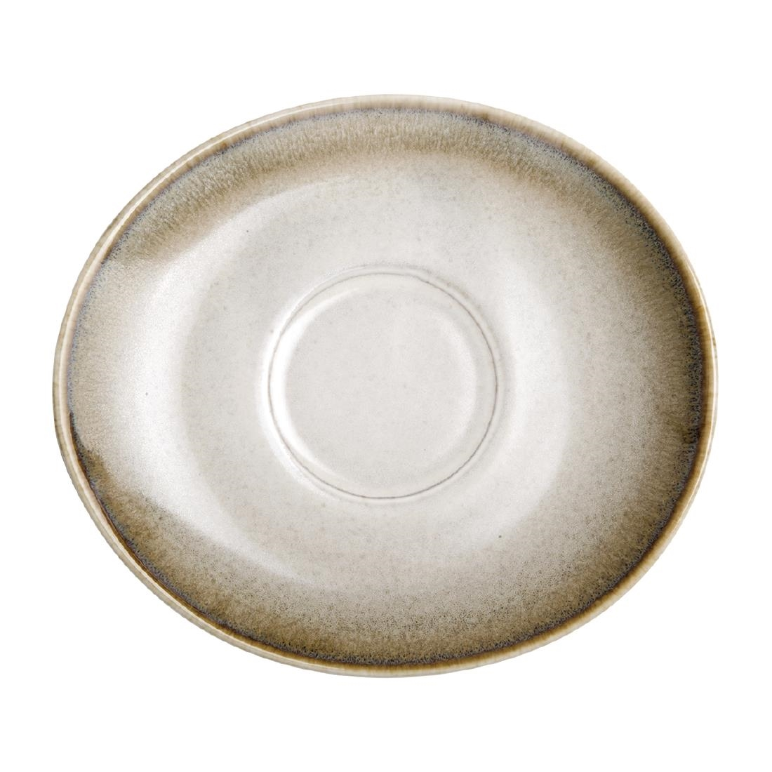 Olympia Birch Taupe Saucers 141 x 126mm Pack of 6