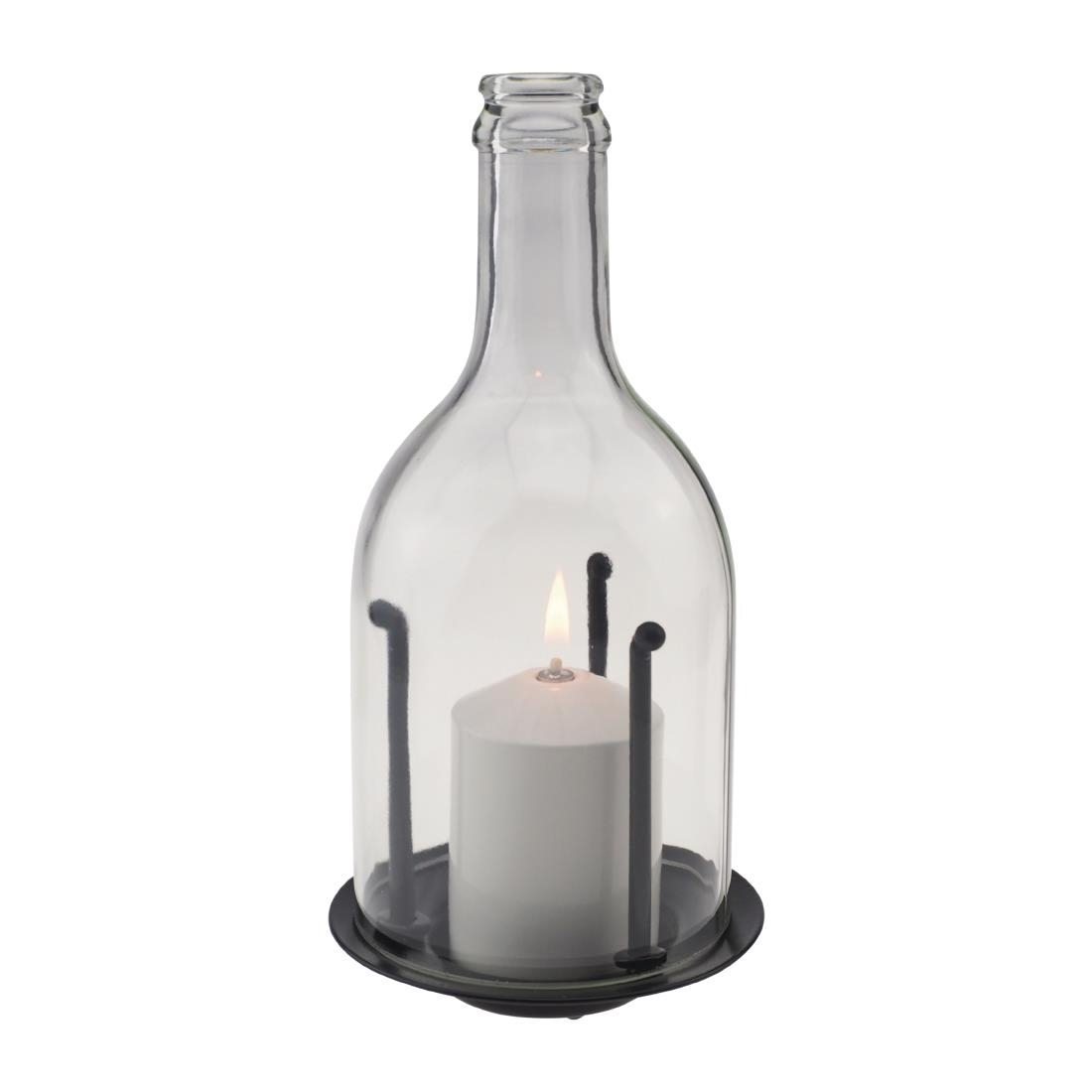 Candola Ino Glass Miracle Lamp Clear
