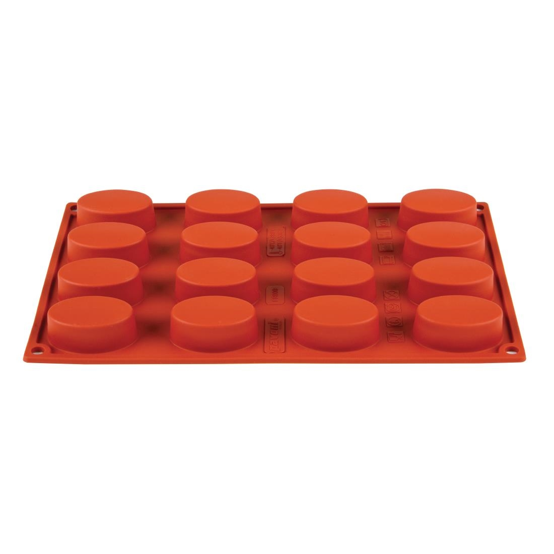 Pavoni Formaflex Silicone Oval Mould 16 Cup