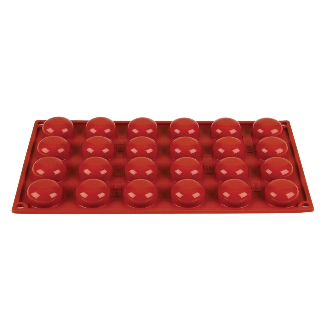 Pavoni Formaflex Silicone Pomponette Mould 24 Cup