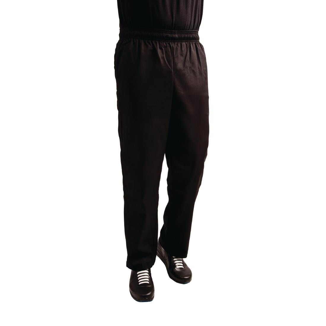 Click to view product details and reviews for Whites Easyfit Trousers Teflon Black Xl.
