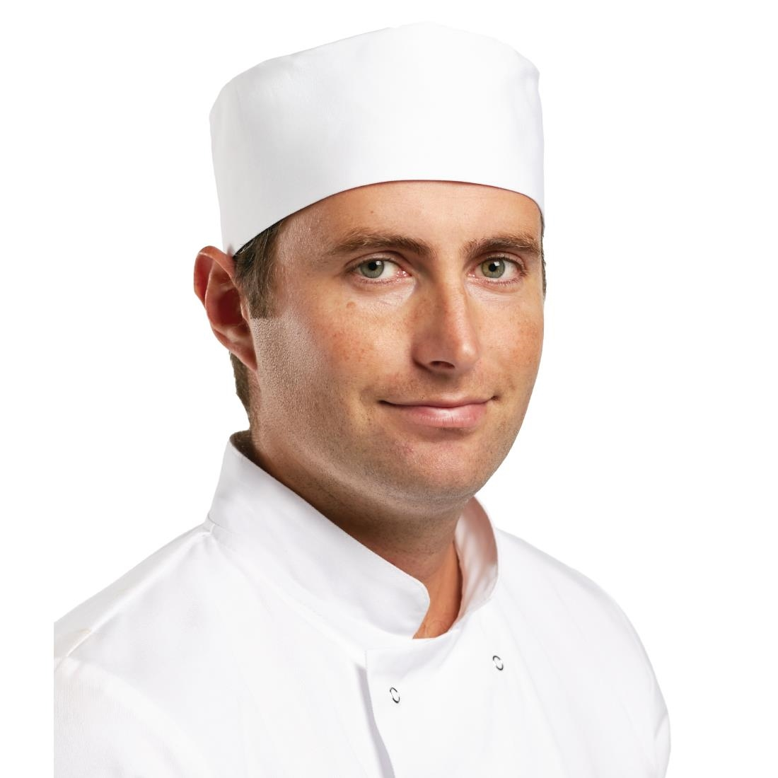 Click to view product details and reviews for Whites Chefs Unisex Skull Cap Polycotton White Xl.