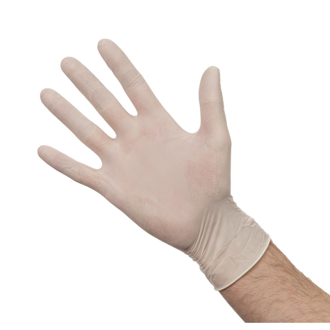Click to view product details and reviews for Powdered Latex Gloves L Pack Of 100.