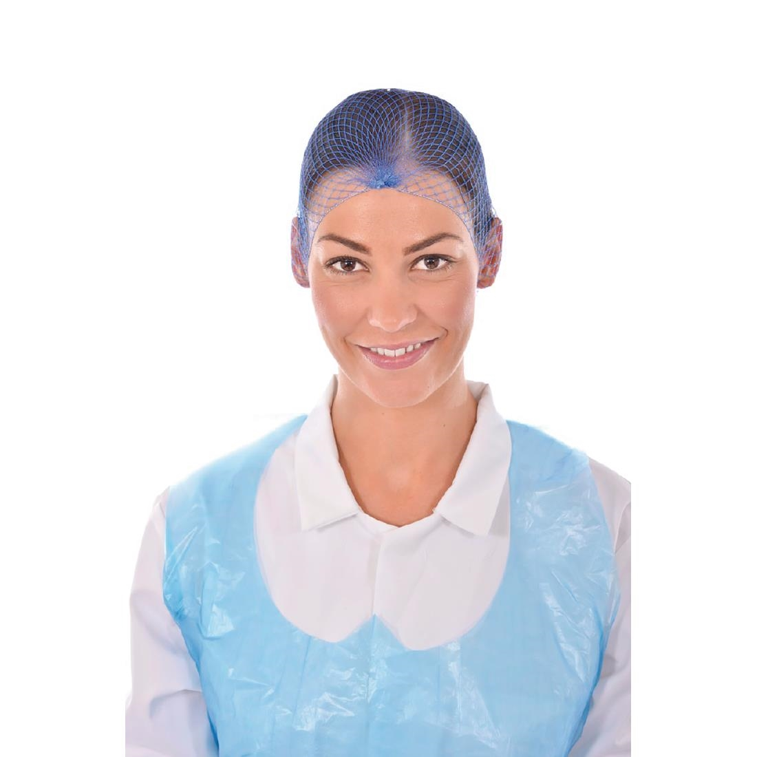 Image of Lion Haircare Hair Net Light Blue (Pack of 50) Pack of 50