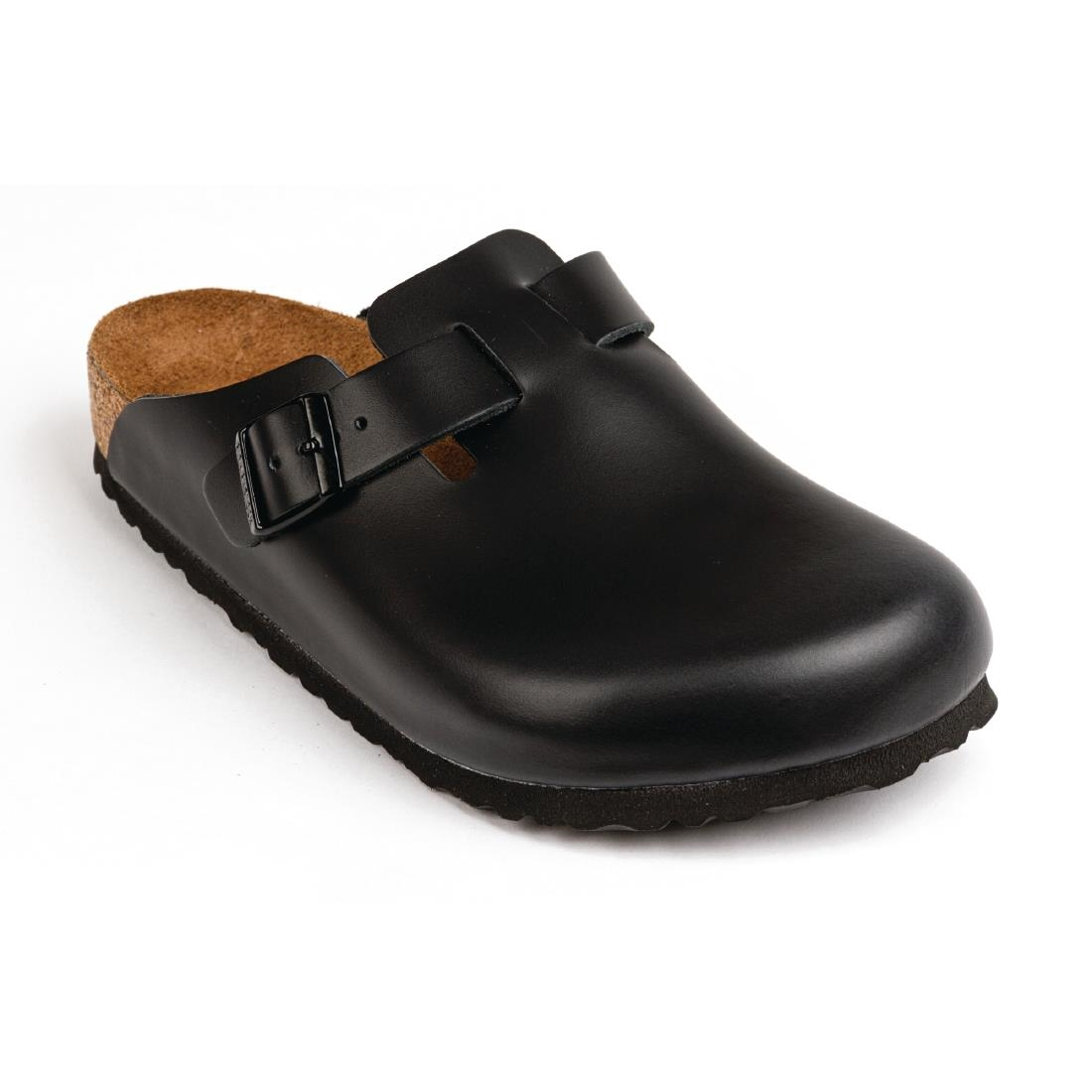 cheaper 9bc13 48042 Birkenstock Boston Clog Black